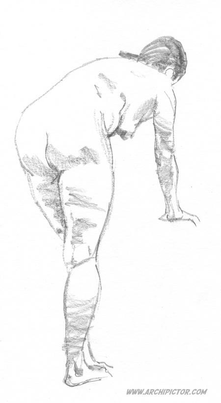 Croquis Taidehalli 26.5., kuvittaja / illustrator Ossi Hiekkala 2015