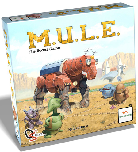 M.U.L.E. The Board Game, Lautapelit.fi 2015