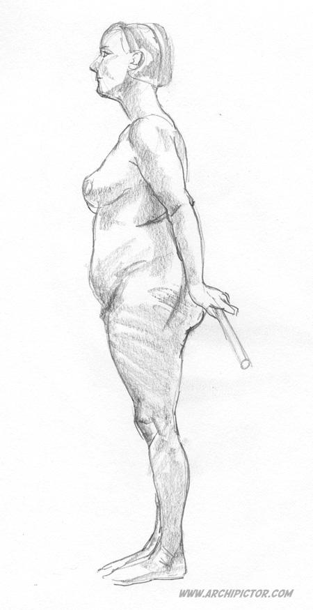 Croquis Taidehalli 8.9., kuvittaja / illustrator Ossi Hiekkala 2015