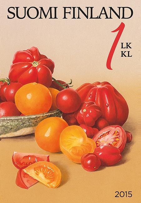 Puutarhan antimia: Tomaatit, Posti 2015
