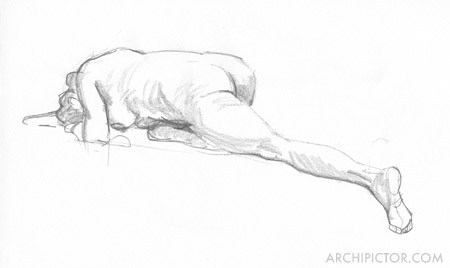 Croquis Taidehalli 6.9., kuvittaja / illustrator Ossi Hiekkala 2016