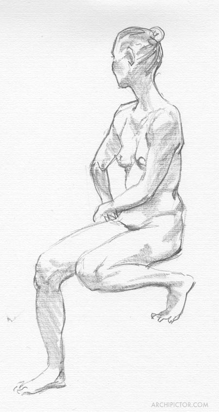 croquis 18.11.2016, kuvittaja / illustrator Ossi Hiekkala