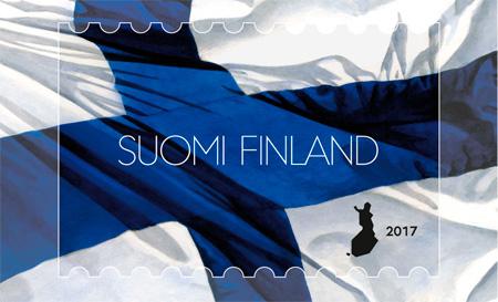 Suomen lippu 2017, Ossi Hiekkala & Heikki Sallinen, Logopolis Graphic Design 2016