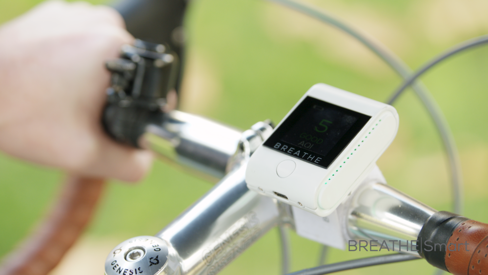CYCLISTS - Cyclists breathe more deeply and at a quicker rate than pedestrians while in closer proximity to exhaust fumes, which can increase the number of airborne particles penetrating the lungs. Evidence has shown that avoiding busy roads can reduce the amount of pollution you breathe by up to 70%. BREATHElSmart can help you choose low pollution routes.