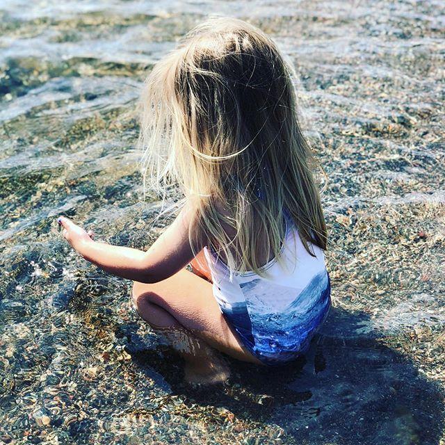 Kärleken till vattnet går i arv.
