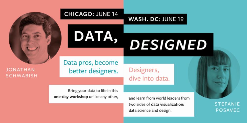 Data Designed Workshop Flyer
