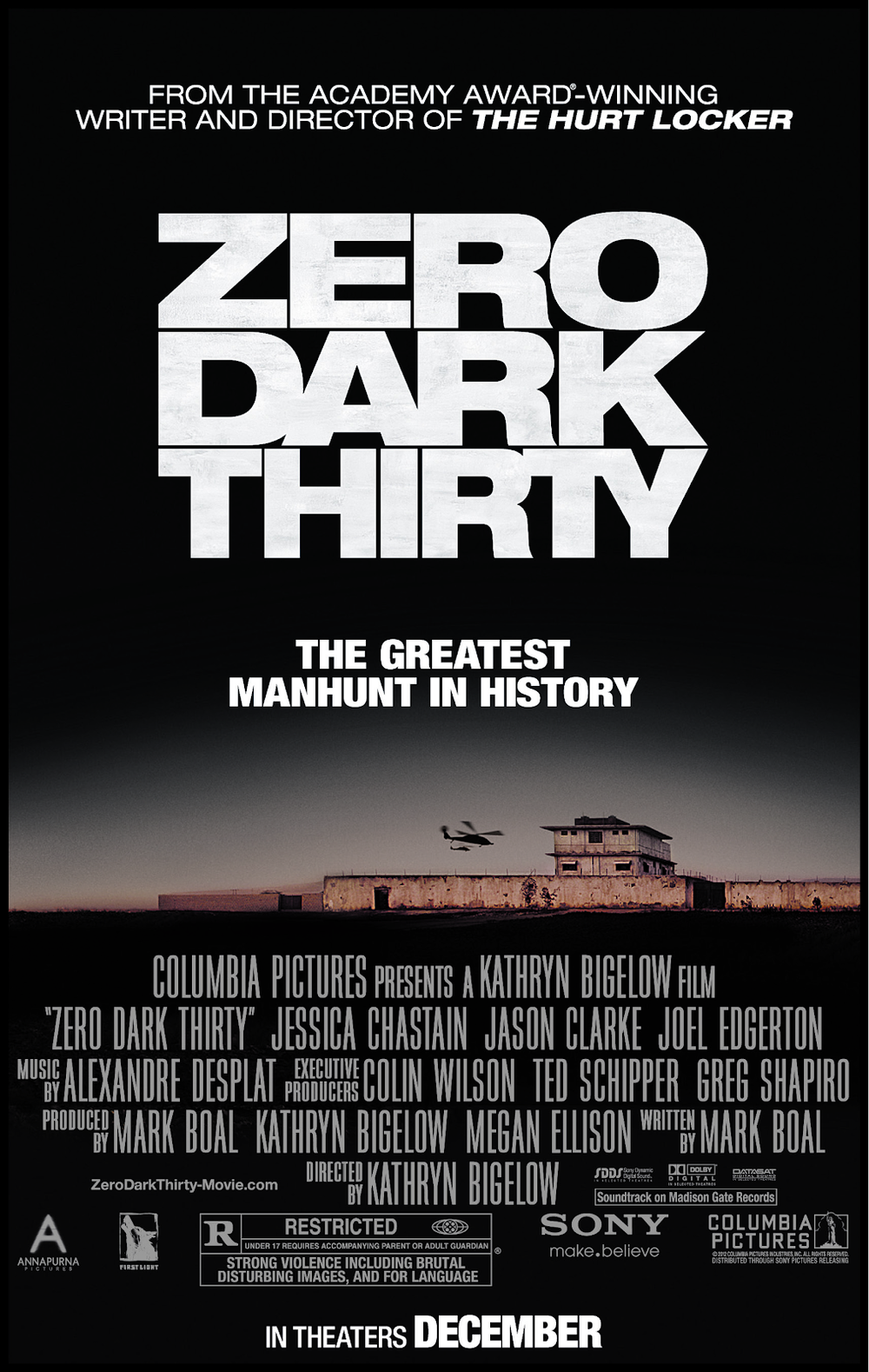 Kathryn Bigelow , Mark Boal , Jessica Chastain , Joel Edgerton , Chris Pratt