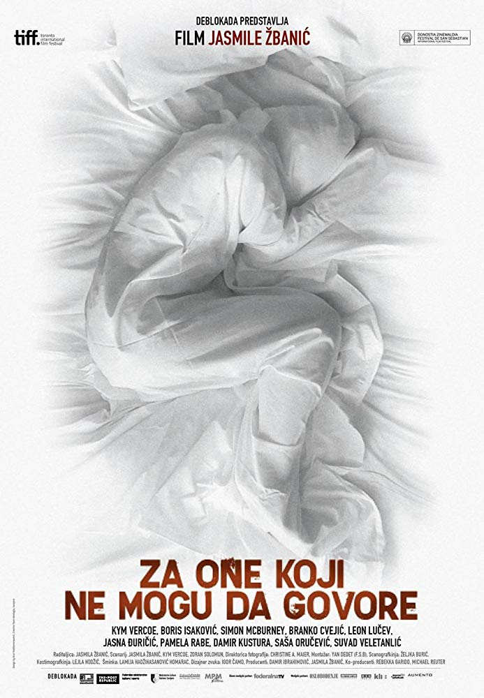 Jasmila Zbanic , Zoran Solomun , Kym Vercoe , Kym Vercoe , Boris Isakovic , Simon McBurney