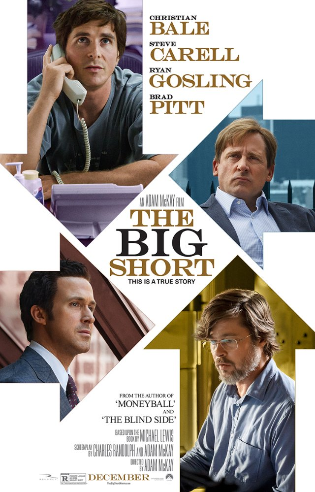 Charles Randolph , Adam McKay , Christian Bale , Steve Carell , Ryan Gosling