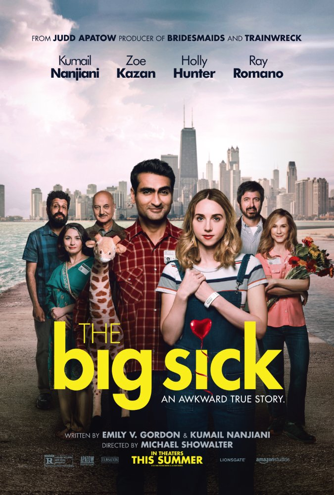 Michael Showalter ,  Emily V. Gordon ,  Kumail Nanjiani ,  Zoe Kazan ,  Holly Hunter