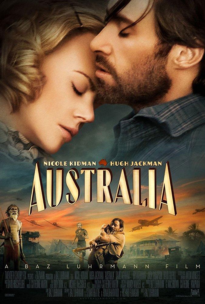 Stuart Beattie , Baz Luhrmann . Nicole Kidman , Hugh Jackman , Shea Adams