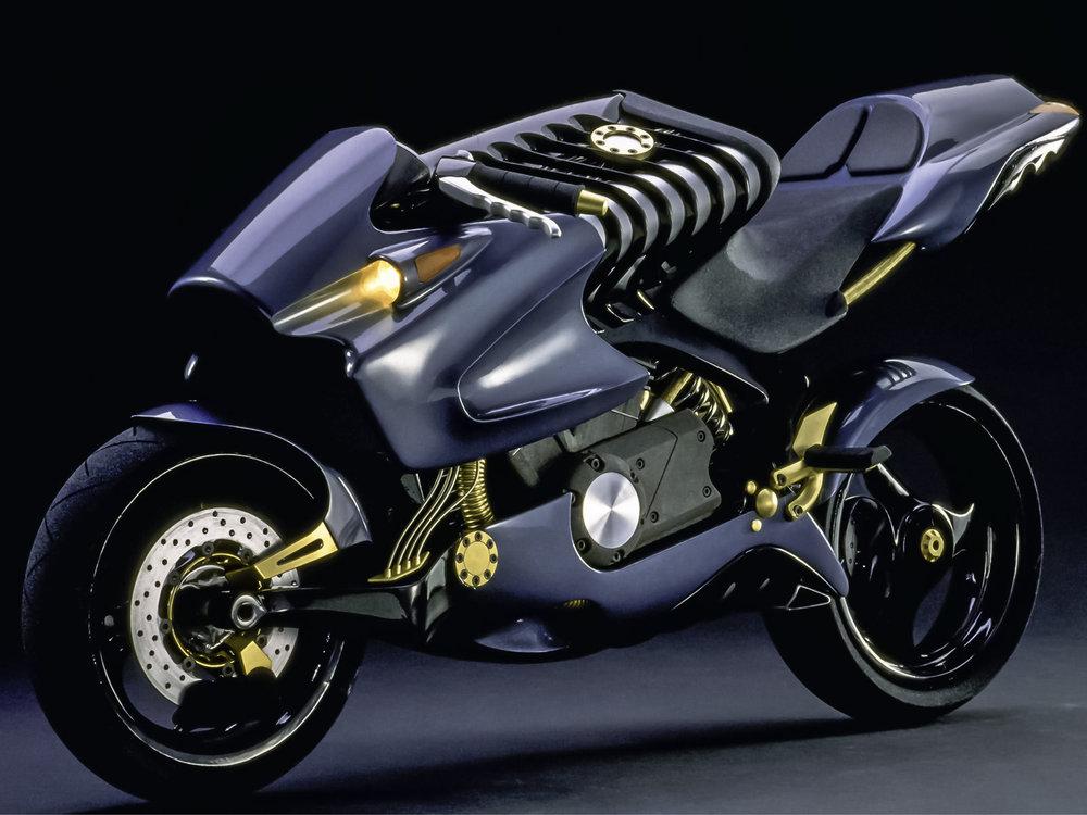 ....H2 Motorcycle Concept..H2 Motorrad Konzept.... -