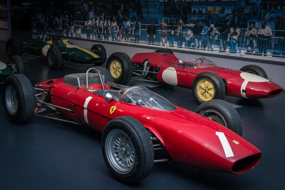 Two racing Ferarris (Credit: Paul Scarfe)