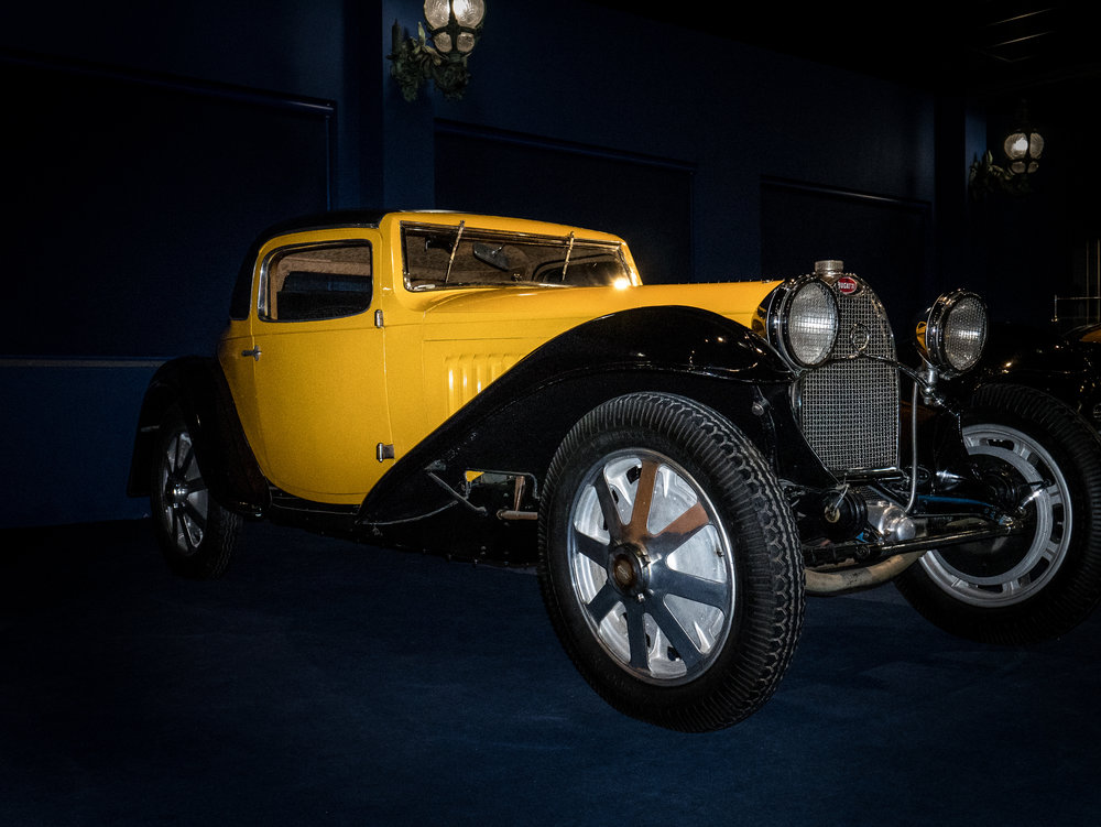 A yellow & black Bugatti (Credit: Nicolai Rauser)