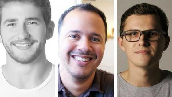 Vinicius Kiatkoski Neves, Chaordic, Christian Nascimento, Softplan Danilo Woznica, Cheescake Labs