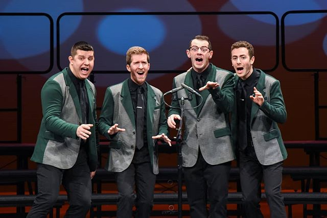 It's National Barbershop Quartet Day! On this day in 1938, our fine Society was founded in a rooftop in Tulsa, Oklahoma and has been growing and evolving ever since. Here's to many, many more years of this special brand of four-part harmony!  #happybirthdaybbdhop #barbershopquartetday💈 #81years #stillgoingstrong #BHS