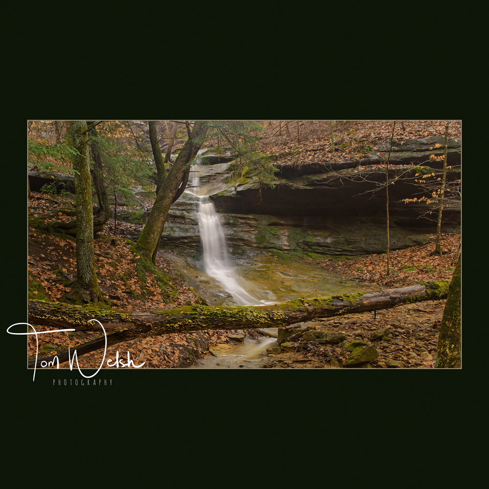 Run off near Robinson Falls