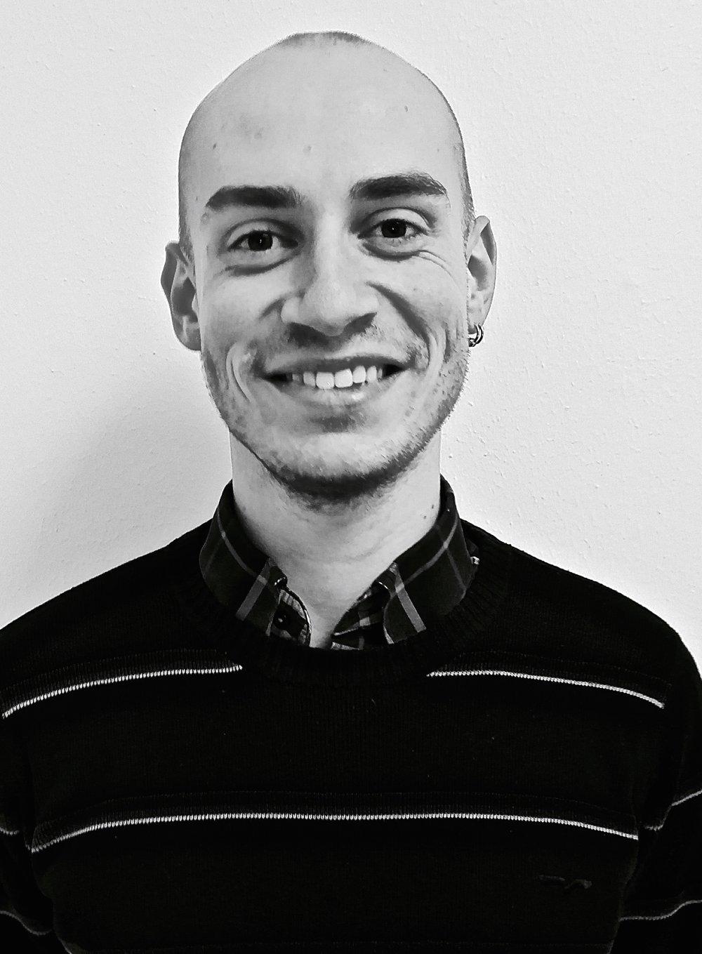 John Riddell Student Worker  john@ajazz.dk