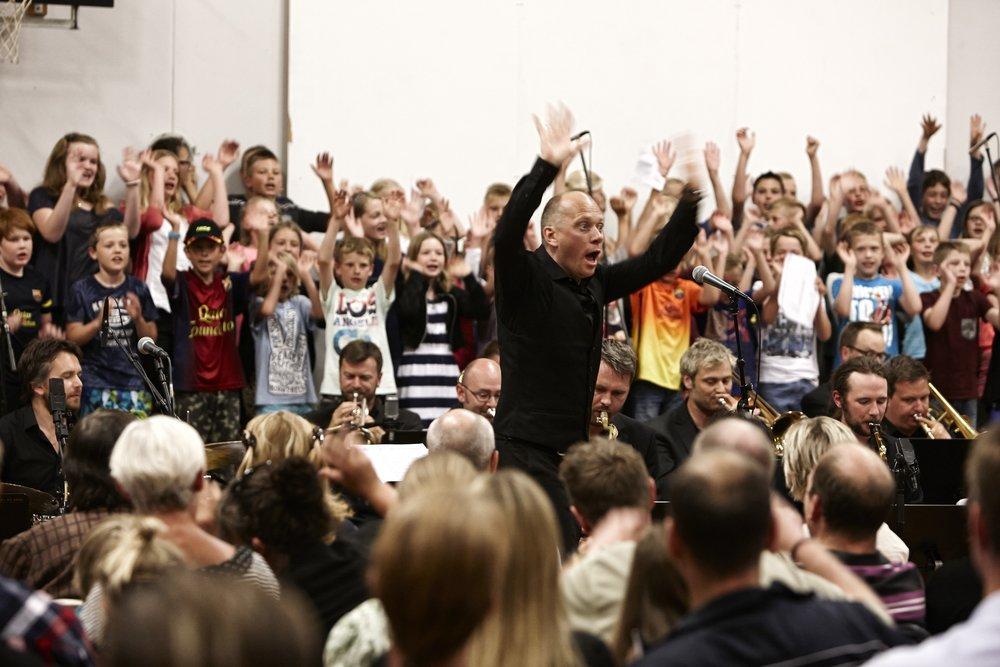 Skolekoncert Big Band Aarhus Jazz Orchestra Formidling