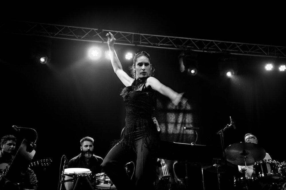 Fra Ridehuset Swinger 2016 - Flamenco Big Band Nights med Perico Sambeat i spidsen. Foto: Per Bergmann.