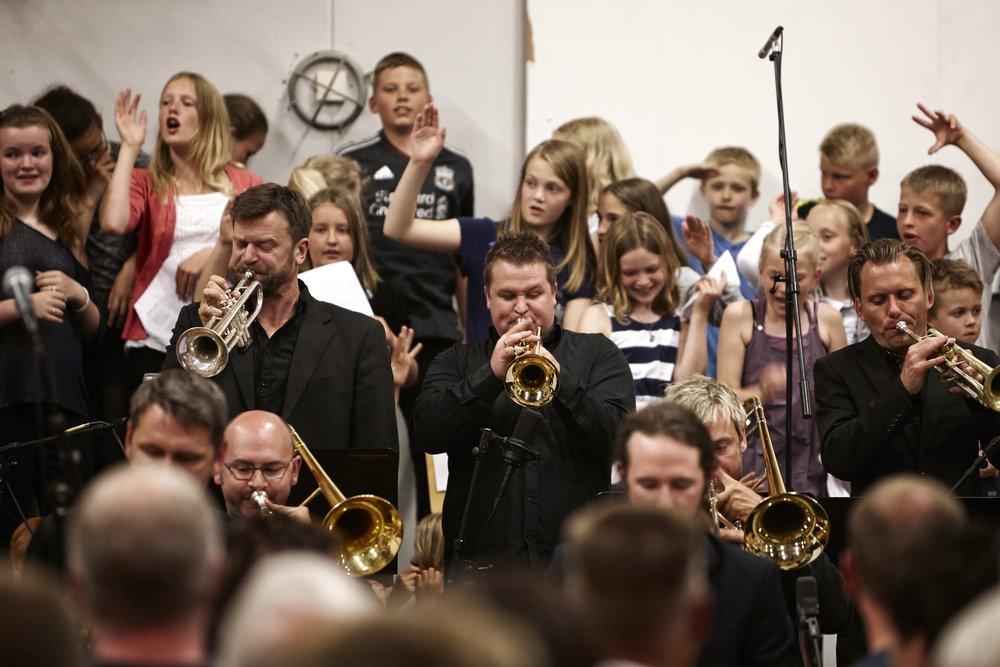 Åben prøve hos Aarhus Jazz Orchestra Bigband Formidling til skolebørn
