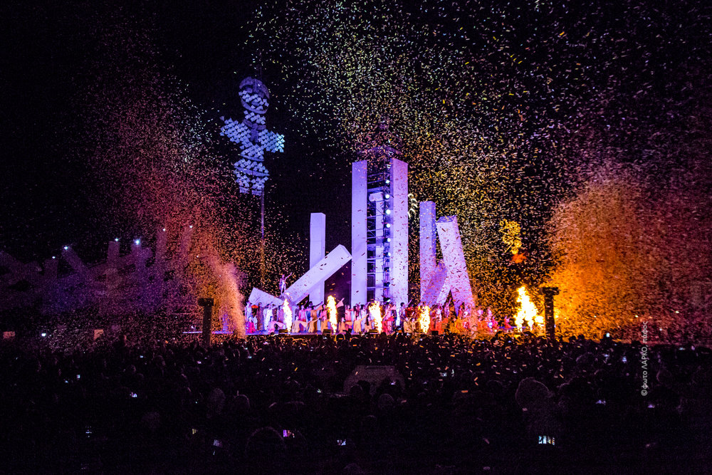 Åbningsshowet ved Pafos 2017
