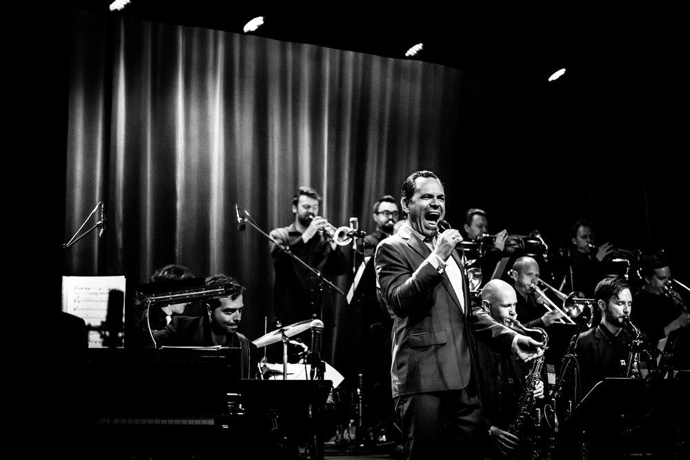 Aarhus Jazz Orchestra feat. Kurt Elling - 2014. Foto: Per Bergmann