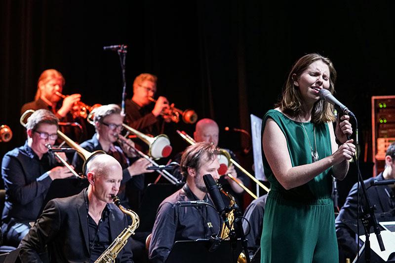 HIGHLIGHTS FRA 4 ÅRTIER  Aarhus Jazz Orchestra feat. Signe Juhl Jensen   Oktober 2018