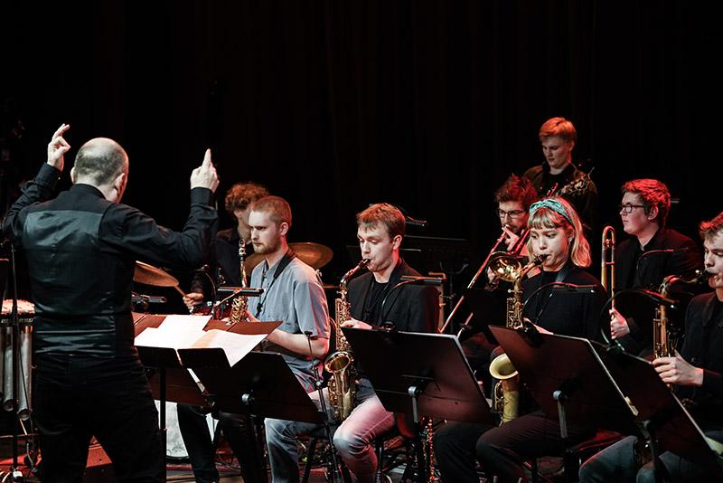 Danish Youth Jazz Orchestra. Foto af Hreinn Gudlaugsson.