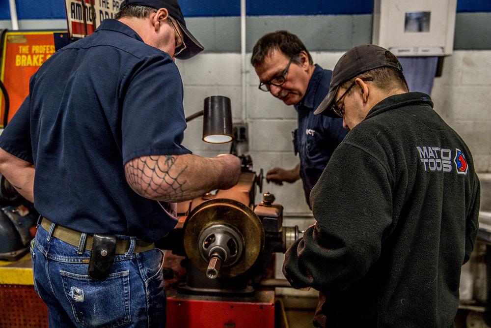 automotive technician careers | new castle school of trades