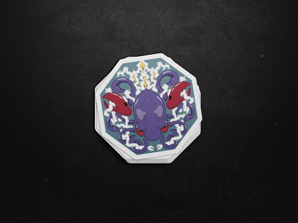 Beastie Boys Squid Sticker