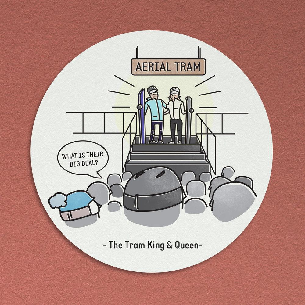 The Tram King & Queen