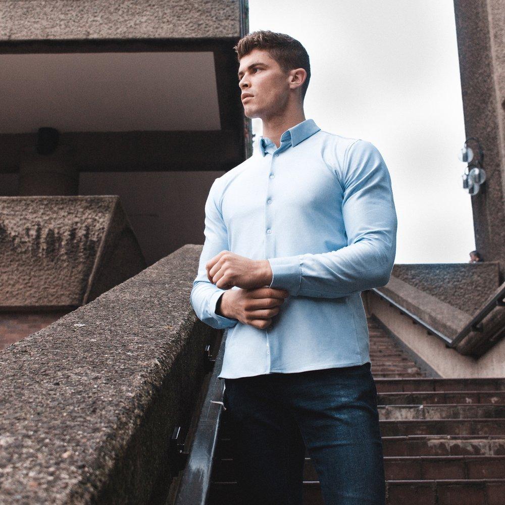 Sky Blue Shirt - £75