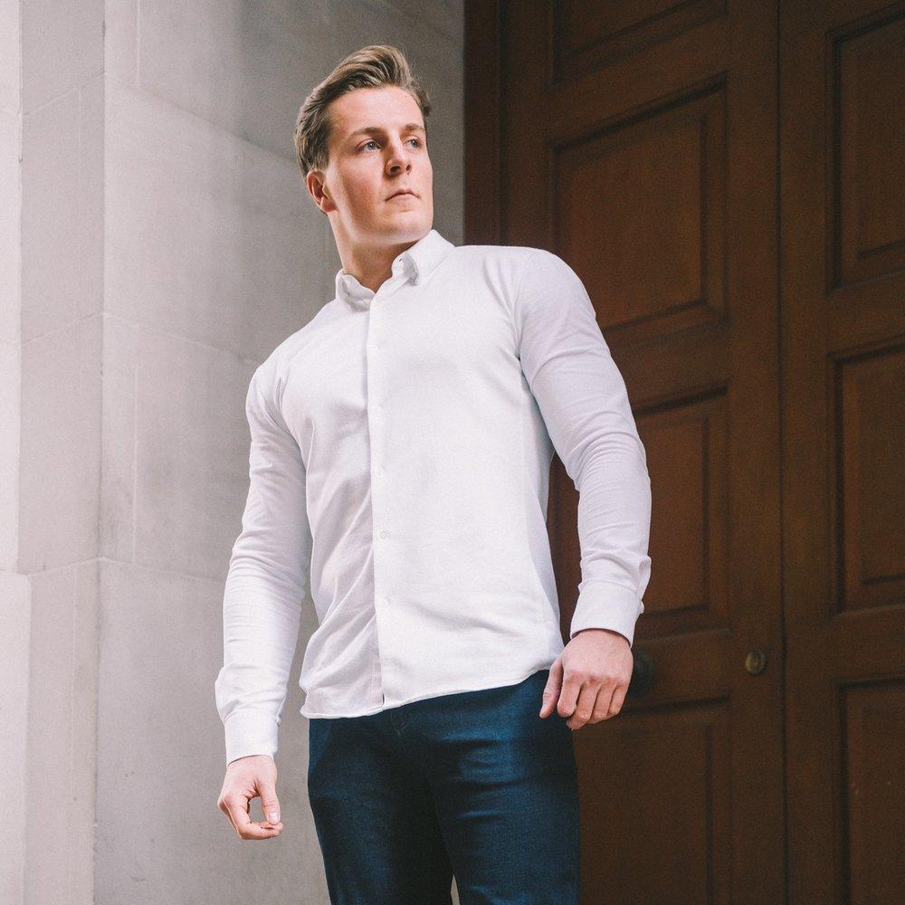 Ivory White Shirt - £75