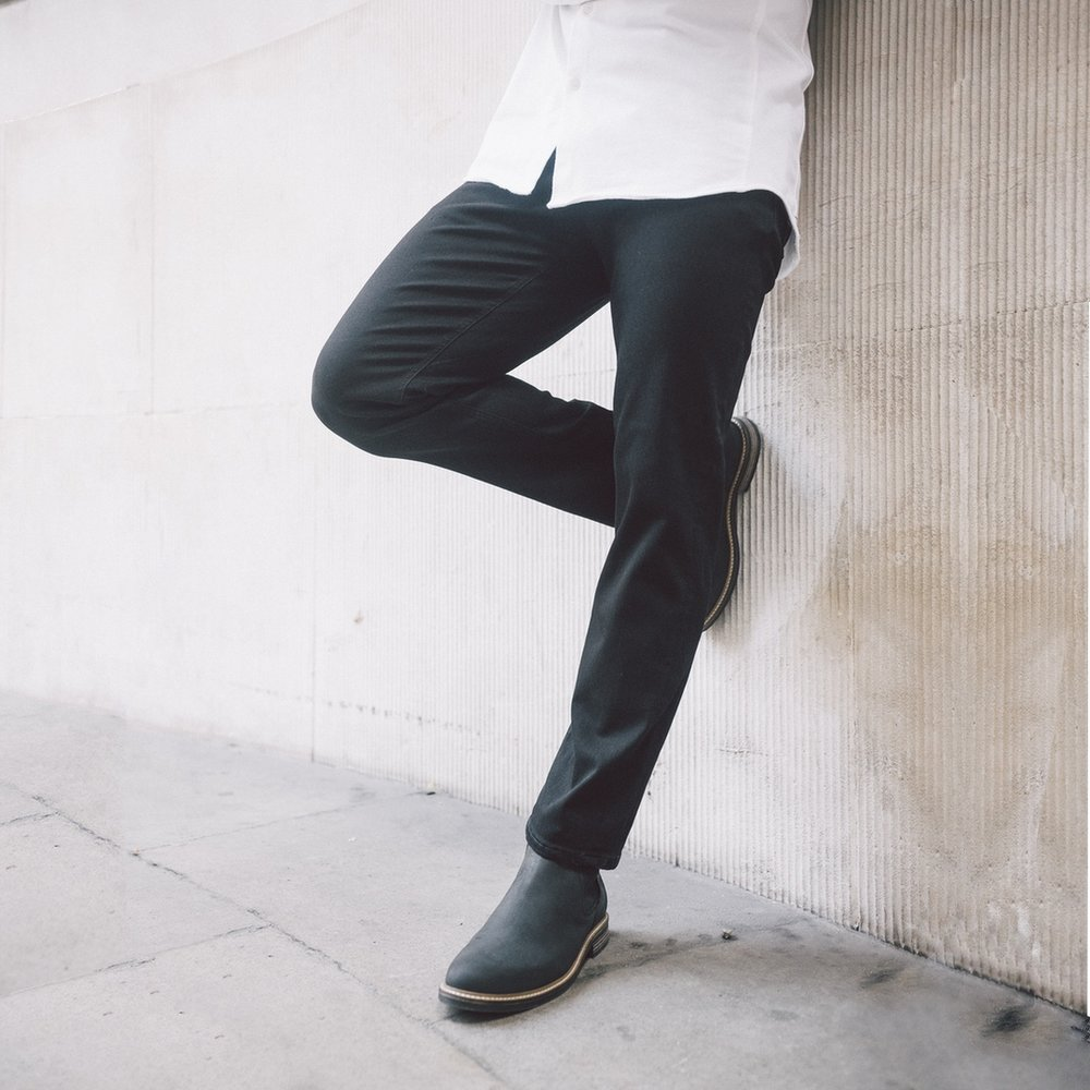 Stay Black Jeans - £89