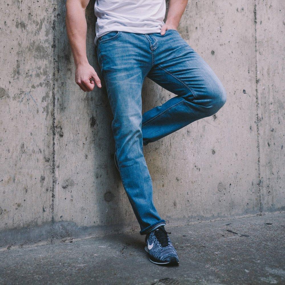 Medium Wash Jeans - £85