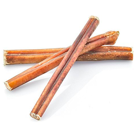 Bully sticks are great to help clean a dog's teeth and gums in a natural way! 100% digestible (no preservatives, chemicals, or additives) and enriched with protein. A great alternative to rawhides!