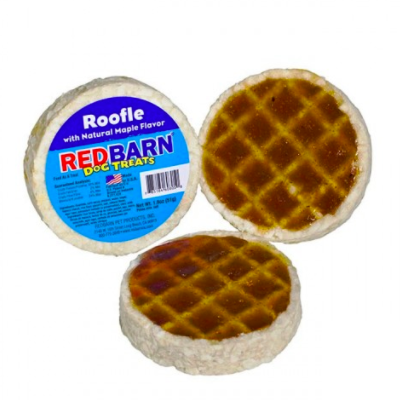 We're sure your dog enjoys breakfast meals like you do! These waffle treats are made from chopped rawhide and a savory natural maple flavor. A great way to reward your pup!