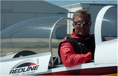 Ken Reider - Ken was inspired at an early age to pursue aviation after seeing the Blue Angels perform at Cincinnati's Lunken Airport.  He is an aerobatic and multi-engine flight instructor and serves as flight-lead for the Redline Team.