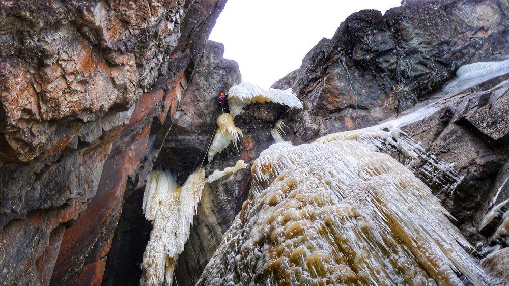 Matthias Scherer on Lipton, Rjukan, Norway - picture Tanja Schmitt