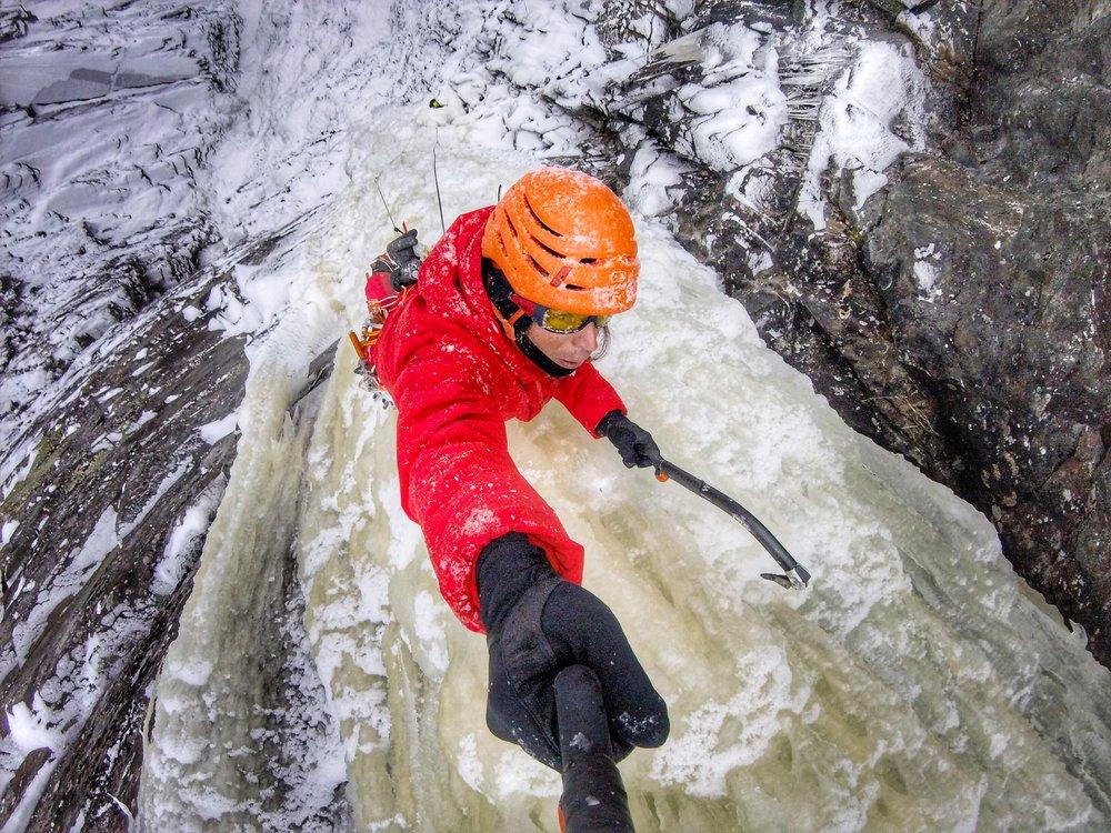 Matthias Scherer on Juvsøyla February 2017, Rjukan, Norway - picture Matthias Scherer