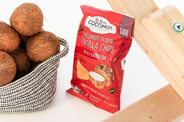 Our Barbecue Coconut Flour Tortilla Chips have a delicious sweet and smoky tang - try a bag at @wholefoodsuk or @planetorganic!