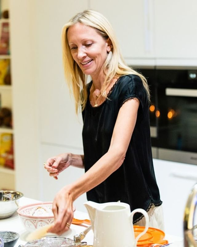Our incredible founder @daniellahunter making coconut flour tortillas from scratch 😊