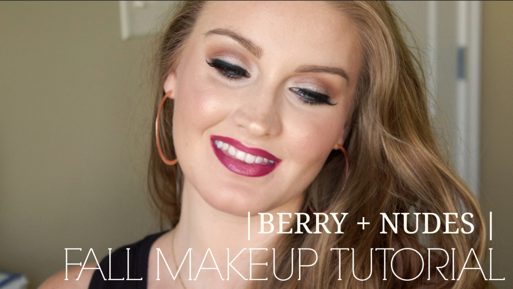 Berry + Nudes | Fall Makeup Tutorial | www.annemariemitchell.com