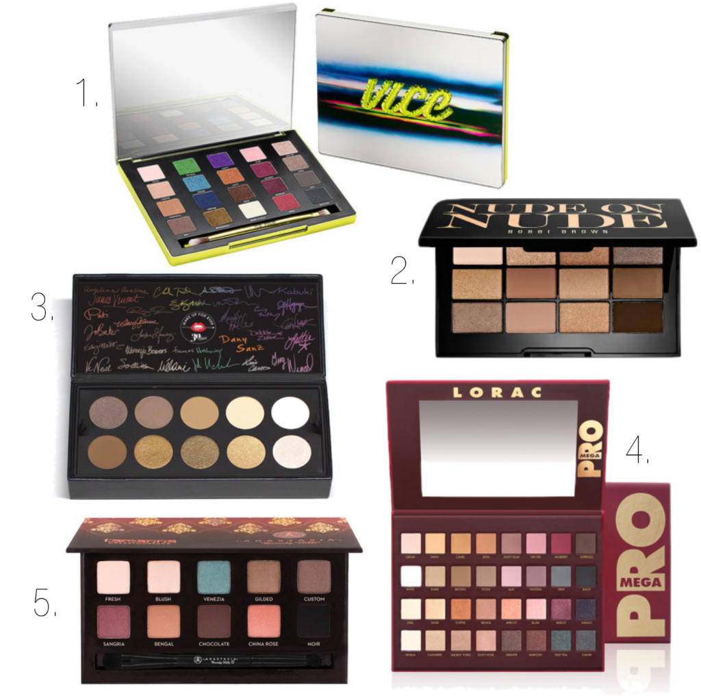 5 Eyeshadow Palettes to Crave | Fall 2014 | www.annemariemitchell.com