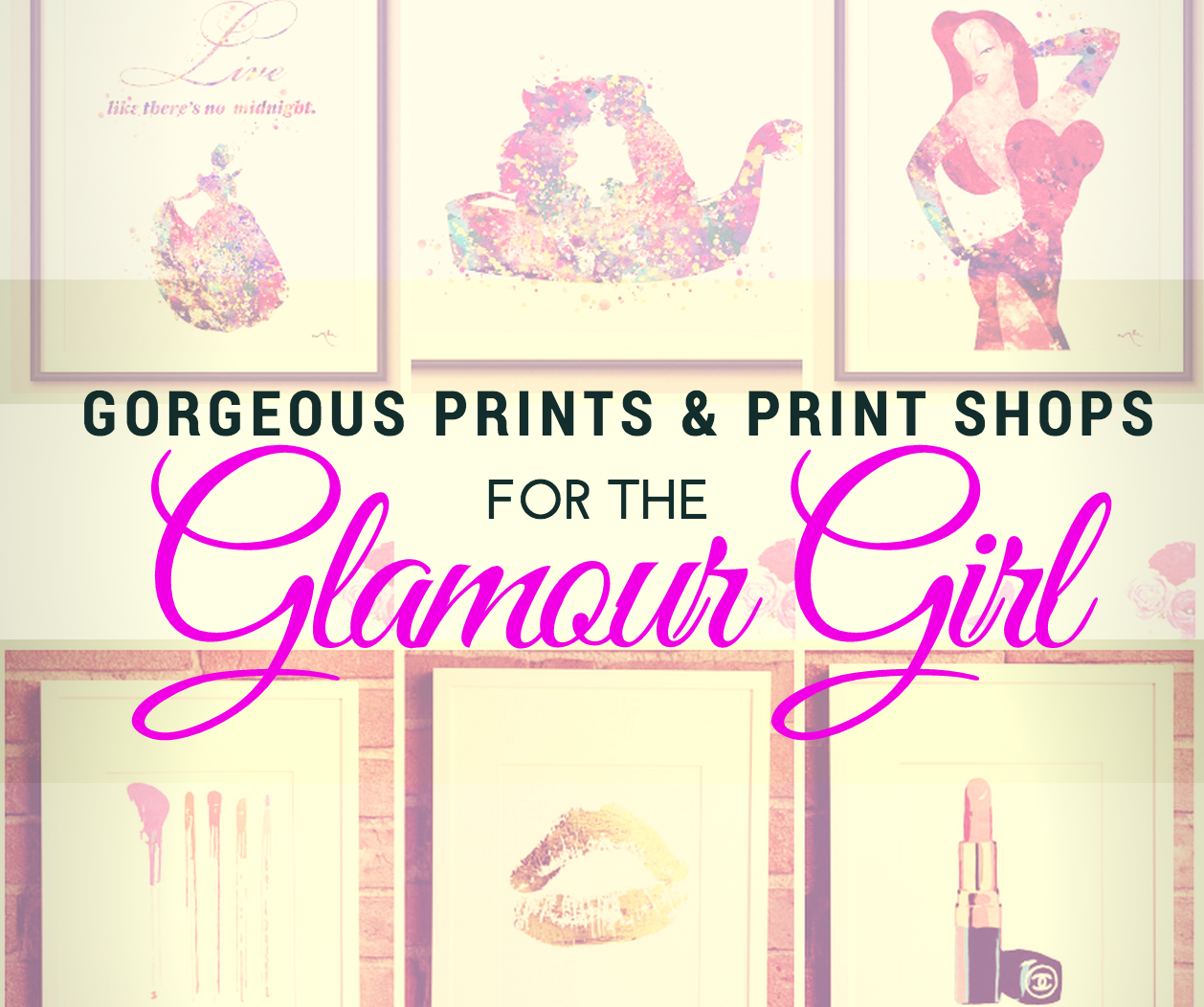 Gorgeous Prints and Print Shops for the Glamour Girl | www.annemariemitchell.com