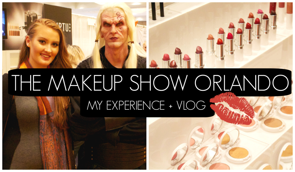 The Makeup Show Orlando | My Experience + Vlog | www.annemariemitchell.com