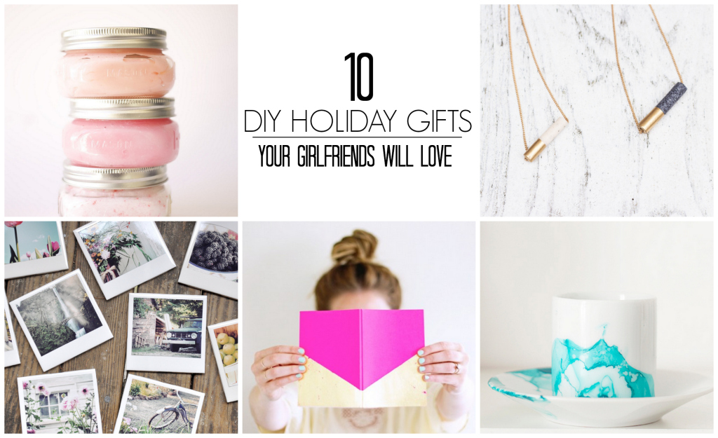 10 DIY Holiday Gifts Your Girlfriends Will Love | www.annemariemitchell.com