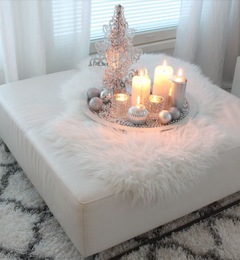 Winter Home Decor Inspiration | www.annemariemitchell.com