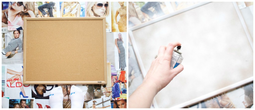 DIY Inspiration Cork Board | www.annemariemitchell.com
